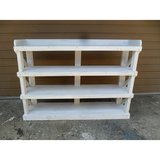 shabby chic BOOKCASE/SERVER from reclaimed wood USA made shabby chic style in Los Angeles, California