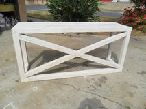 Console/Desk. Reclaimed pine. Shabby chic style. USA made. in Los Angeles, California