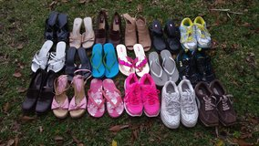 lot of woman shoes size 8 in Wilmington, North Carolina