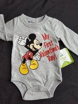 My 1st Valentine's Day Onesie- Mickey Mouse in Spring, Texas