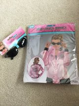 Pink Ladies Jacket and Sunglasses for adults in Joliet, Illinois