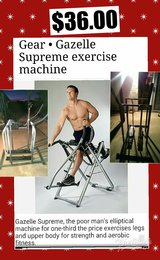 exercise machine kinda like an elleptical in 29 Palms, California
