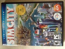 PC Sim city games 5discs in Fort Campbell, Kentucky