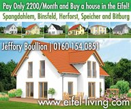 New Houses in Spangdahlem now under construction. in Spangdahlem, Germany