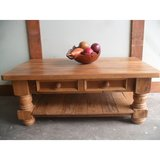 Coffee table made from reclaimed wood and custom made in the USA in Los Angeles, California