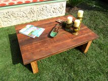 COFFEE TABLE from reclaimed wood USA made in Los Angeles, California