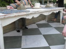 Dining table custom made from reclaimed wood USA made in Los Angeles, California