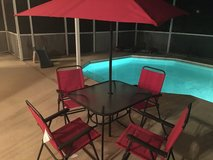 Patio Set in MacDill AFB, FL
