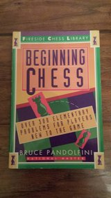 Beginning Chess by Bruce Pandolfini in Kingwood, Texas