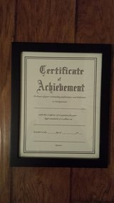 Award Frame - Black - Wall Mount in Kingwood, Texas