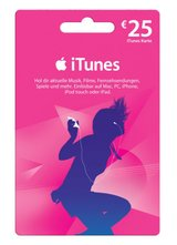 ITunes Gift Card (€50 for €35) in Wiesbaden, GE