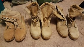 Desert Boots in Fort Leonard Wood, Missouri