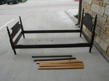 Vintage/Antique Twin Bed - Wooden Frame in Conroe, Texas