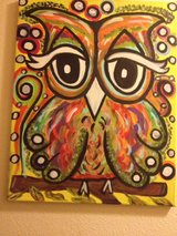Owl painting in Duncan, Oklahoma