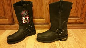 Men's Milwaukee Harness engineer motorcycle boots in Pleasant View, Tennessee