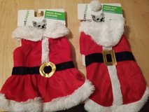 New Santa dog costumes in Aurora, Illinois