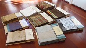 Fabric Samples Lot of 9 in Conroe, Texas