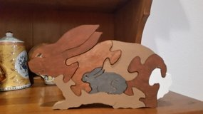 Wooden Rabbit puzzle in O'Fallon, Missouri