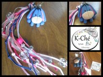 Polymer clay key rings in Fort Bliss, Texas