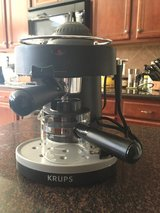 KRUPS Expresso Machine w/ frother Never Used in Baytown, Texas