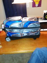 3 ball Track Bowling bag in Wilmington, North Carolina