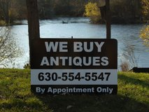 WE BUY ANTIQUES AND ESTATES in Naperville, Illinois