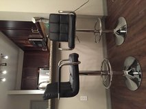 "2 Modern Adjustable ""Leather"" Swivel Pub Style Bar Stools in MacDill AFB, FL"