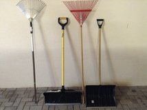 only the snow shovels in Ramstein, Germany