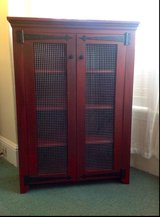 Wood jelly cupboard pie safe rack cabinet in Camp Lejeune, North Carolina
