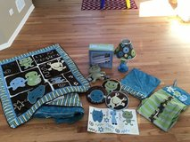 CoCaLo Peek-A-Boo Monsters Baby Bedding in Chicago, Illinois