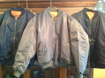 New bomber jackets in Fort Knox, Kentucky