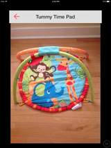 Tummy Time Mat in Watertown, New York