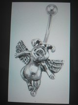flying pig belly ring in Camp Lejeune, North Carolina
