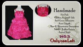 Hot Pink Princess Dress in Belleville, Illinois