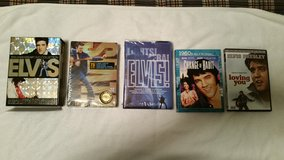 Complete Elvis Presley DVD Collection in Camp Lejeune, North Carolina