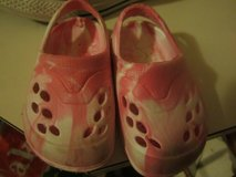 Pink Camo Croc type Shoes in Vista, California