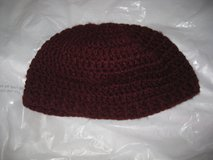 burgundy crochet hat in Hinesville, Georgia