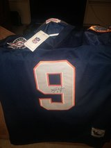 Bears McMahon autographed jersey XL in Sandwich, Illinois