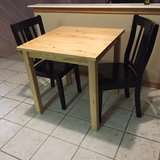 Dining Table and 2 Chairs in Kingwood, Texas