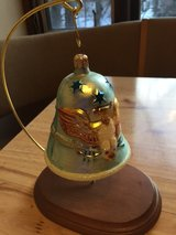 Christopher Radko Patriotic Bell Ornamant with Stand in Westmont, Illinois