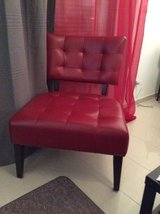 Two Red Accent Chairs Ashley Furniture in Ramstein, Germany