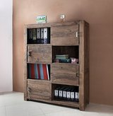 Designer Cupboard/Shelf made out of 100 % acacia wood in Spangdahlem, Germany