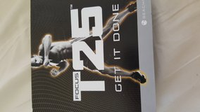 T25 Focus Workout DVDs in Schofield Barracks, Hawaii