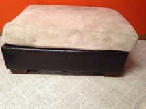 Large Microsuede Ottoman in Kansas City, Missouri