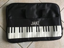 Piano Music Book Bag w/name Jake in Glendale Heights, Illinois