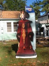 Queen Amidala Cardboard Standup in Cherry Point, North Carolina