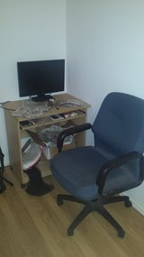 Computer Desk with Office Chair *MUST SELL BY 15 NOV!!!* in Lakenheath, UK