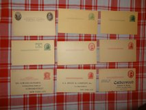 Collection of 54 U.S. Postal Cards in Tomball, Texas