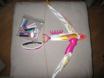 Girls' Kids' Nerf Rebelle Bow & Arrow with Safety Glasses and Extra Arrows! in Lockport, Illinois