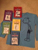 HC Diary of a Wimpy Kid Books & Shirt in Westmont, Illinois